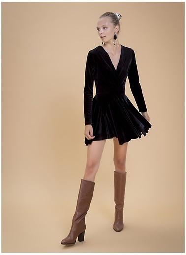 Selma Çilek X Boyner Elbise Siyah